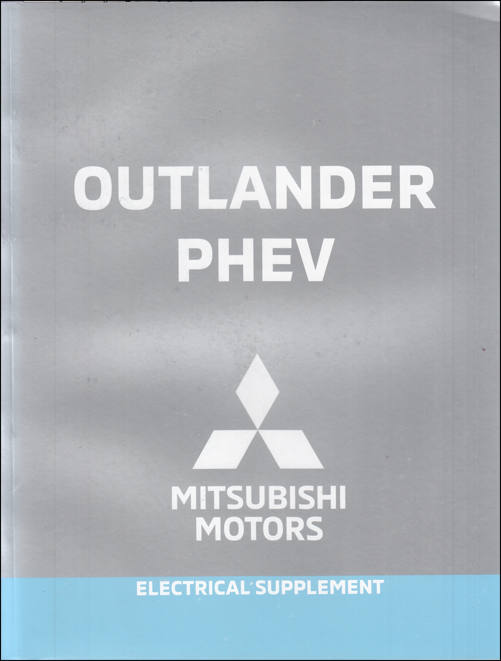 2020 Mitsubishi Outlander PHEV Wiring Diagram Manual Original