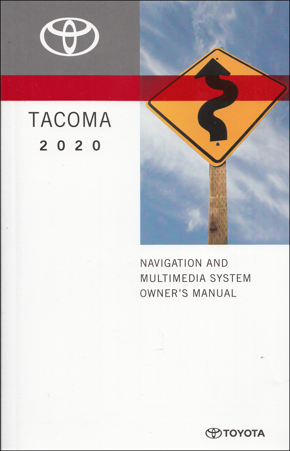 2020 Toyota Tacoma Navigation System Owners Manual Original