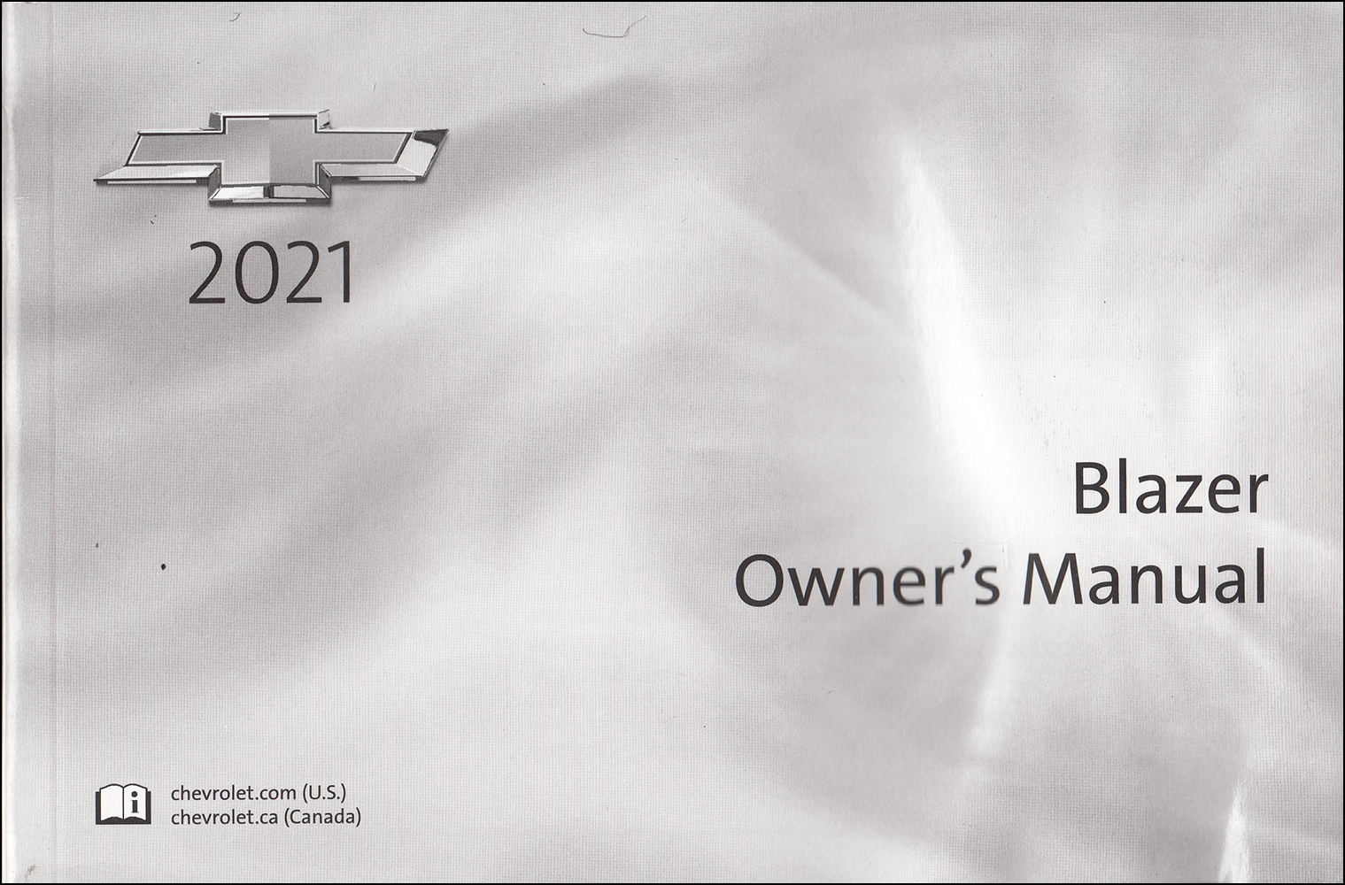2021 Chevrolet Blazer Owner's Manual Original