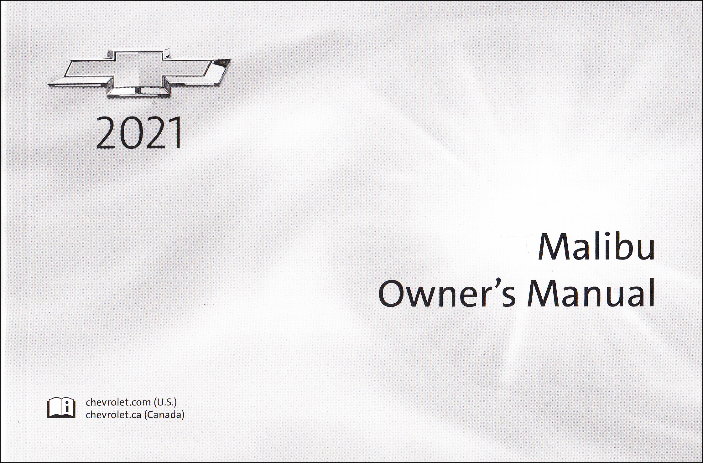 2021 Chevrolet Malibu Owner's Manual Original