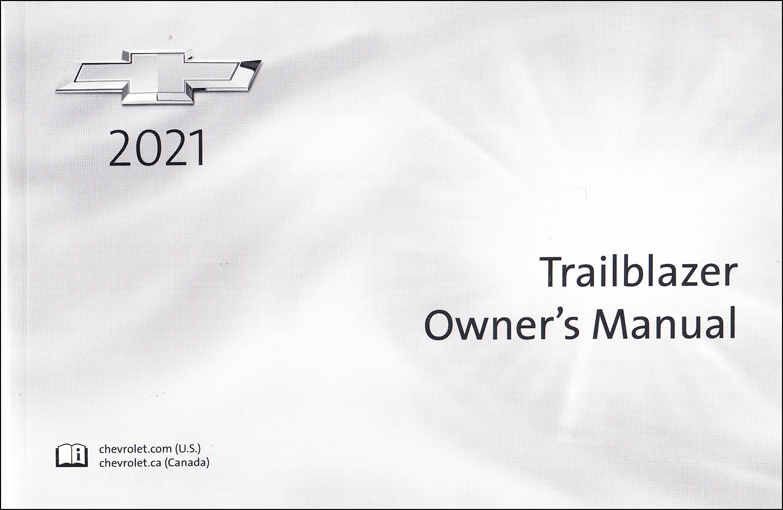 2021 Chevrolet Trailblazer Owner's Manual Original
