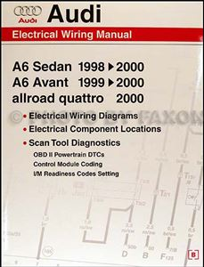 [SCHEMATICS_48YU]  1998-2000 Audi A6 Wiring Diagram Manual | 1984 Audi Quattro Wiring Diagram |  | Faxon Auto Literature