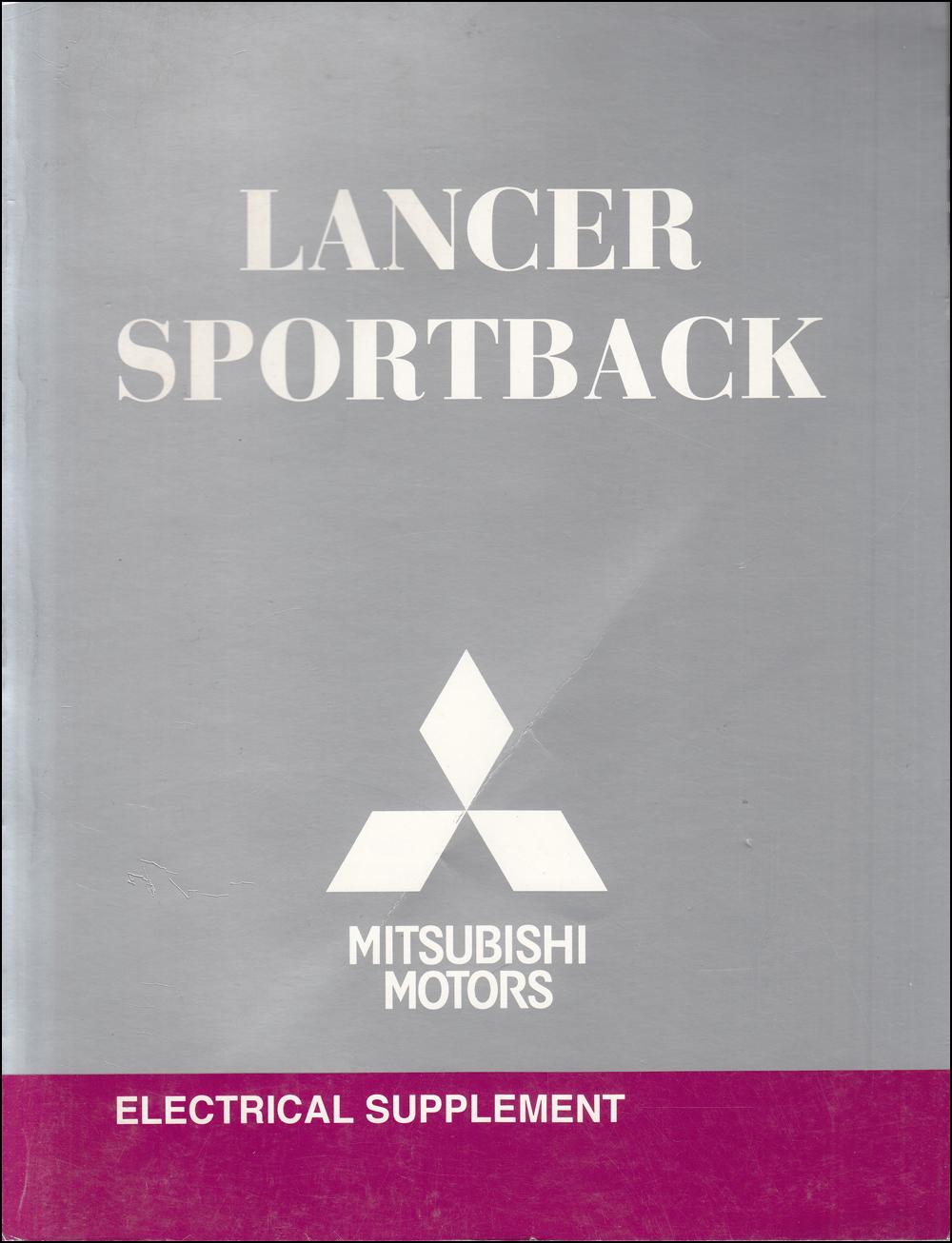 2010 Mitsubishi Lancer Sportback Electrical Wiring Diagram ...