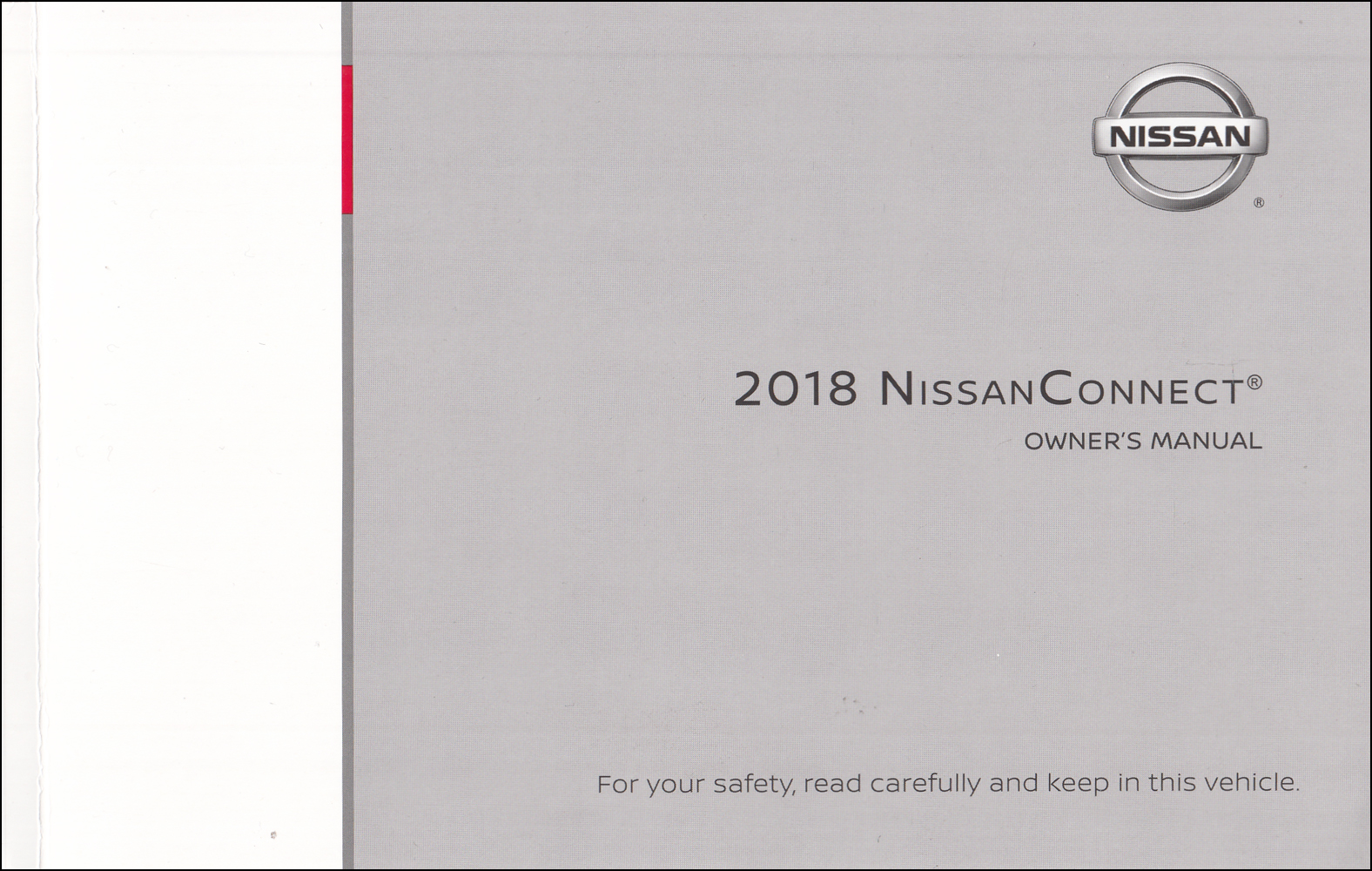 2018 Nissan Connect Navigation System Owners Manual