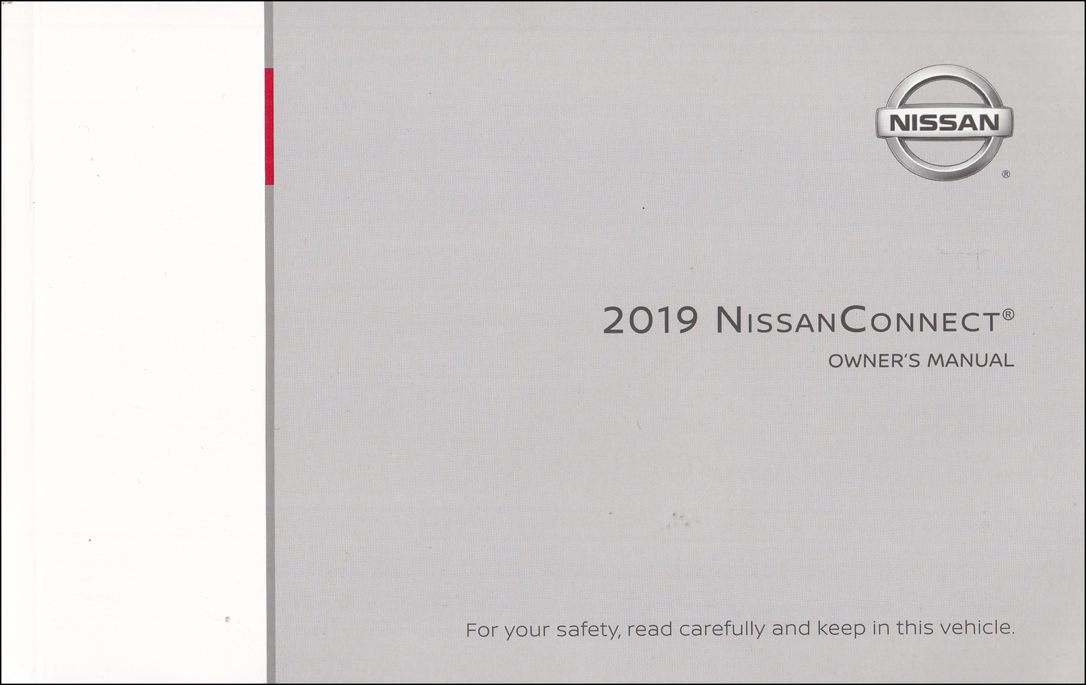 2019 Nissan Connect Navigation System Owners Manual
