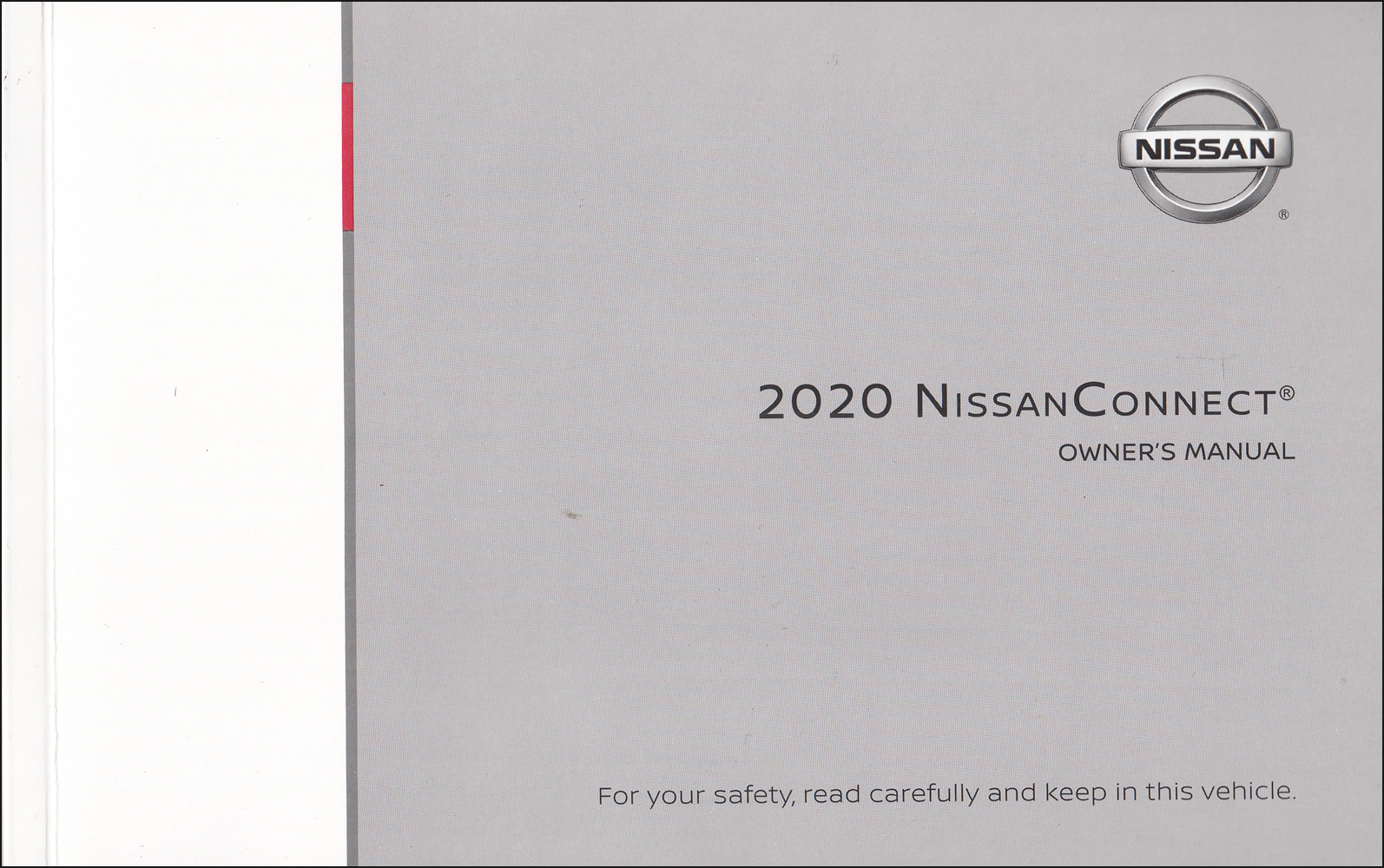 2020 Nissan Connect Navigation System Owners Manual